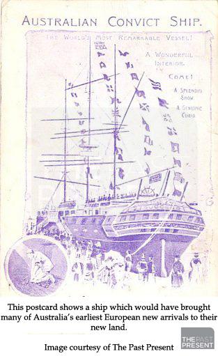 Australian Convict Ship