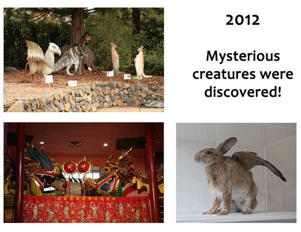 Mysterious creatures copy